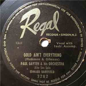 Paul Gayten & His Orchestra - Gold Ain't Everything / Suzette