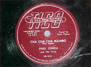 De Denise Orchestra - Cha Cha Mambo / What My Mother Wants To Know